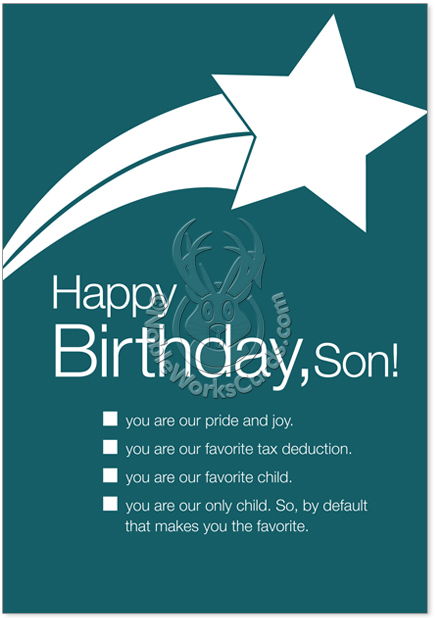 Happy Birthday Card Gif For Son