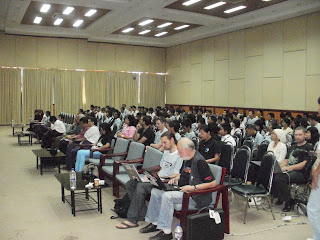 Audience at the BarCamp Yangon 2011,  Myanmar