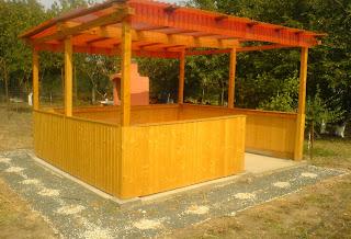 foisor de gradina, pavilion din lemn pentru gradina, model foisor, foisoare, foisor din lemn pentru gradina, tamplarie, foisor,