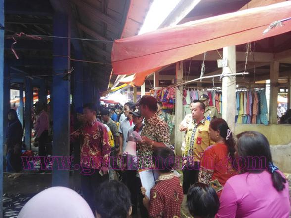 Pemda Lampura dan Munami Saling Claim Pasar Tanjungraja
