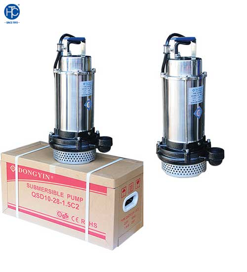 Những tính năng vượt trội đến từ dòng máy bơm nước điện chìm DONGYIN