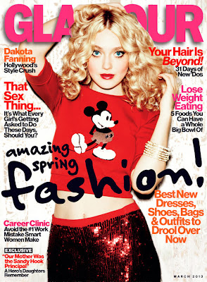 Dakota Fanning Is A Glamour Girl
