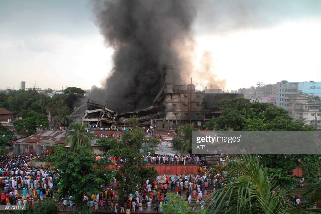 Report On Fire In A Garment Industry Factory Hsc English Today