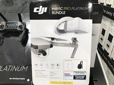 Get a whole new perspective from high on top with the DJI Mavic Pro Platinum Bundle
