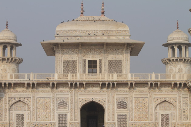 Intricate on the Baby Taj of Agra considered to be a smaller version of the Taj Mahal