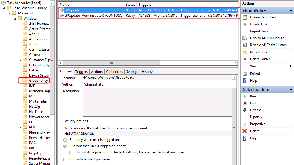 Terry L@u's blog: Remote Group Policy Update on Windows Server 2012