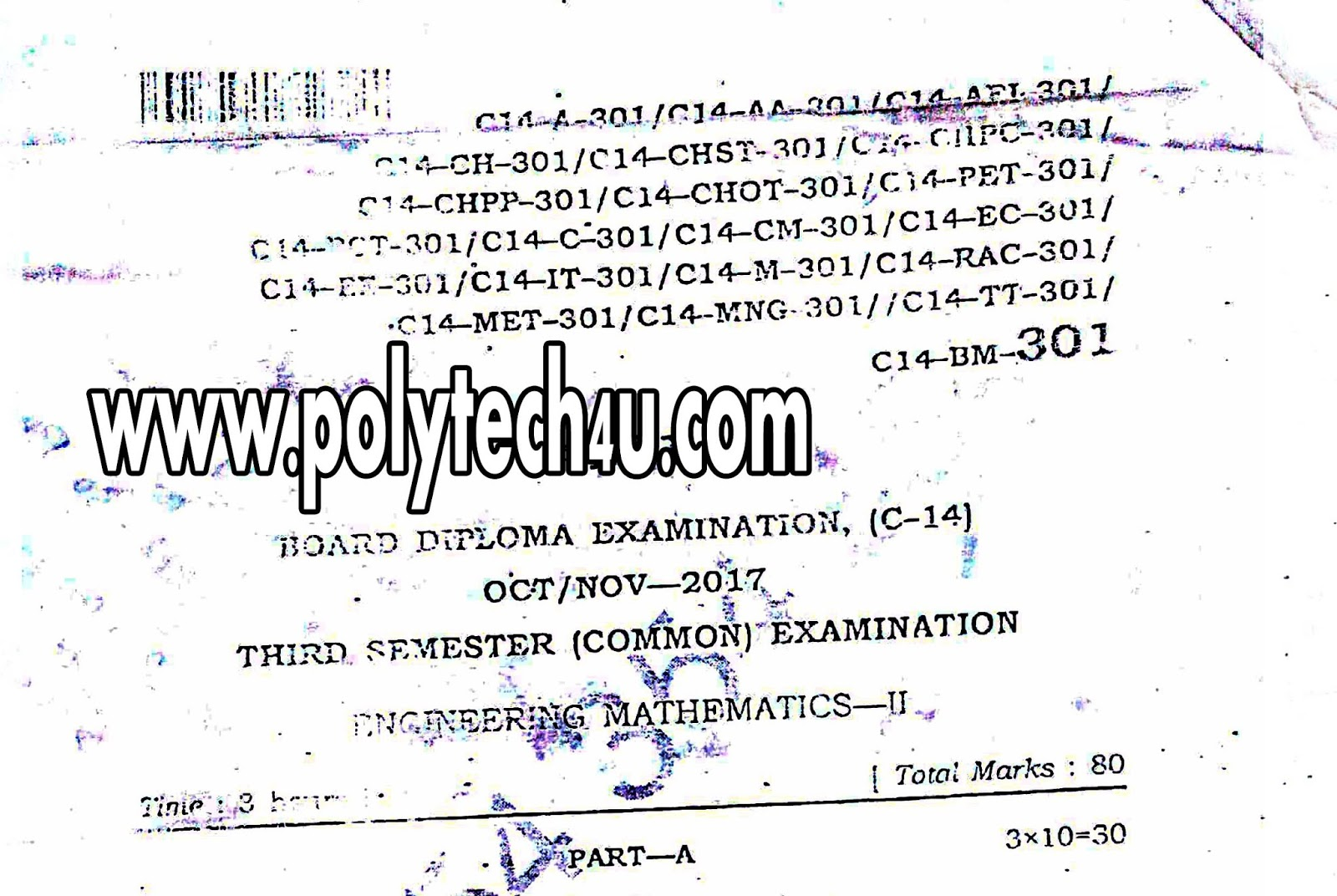Maths 2 sbtetap c 14 dce old question paper oct nov 2017 pdf 301 engineering mathematics 2 malvernweather Image collections