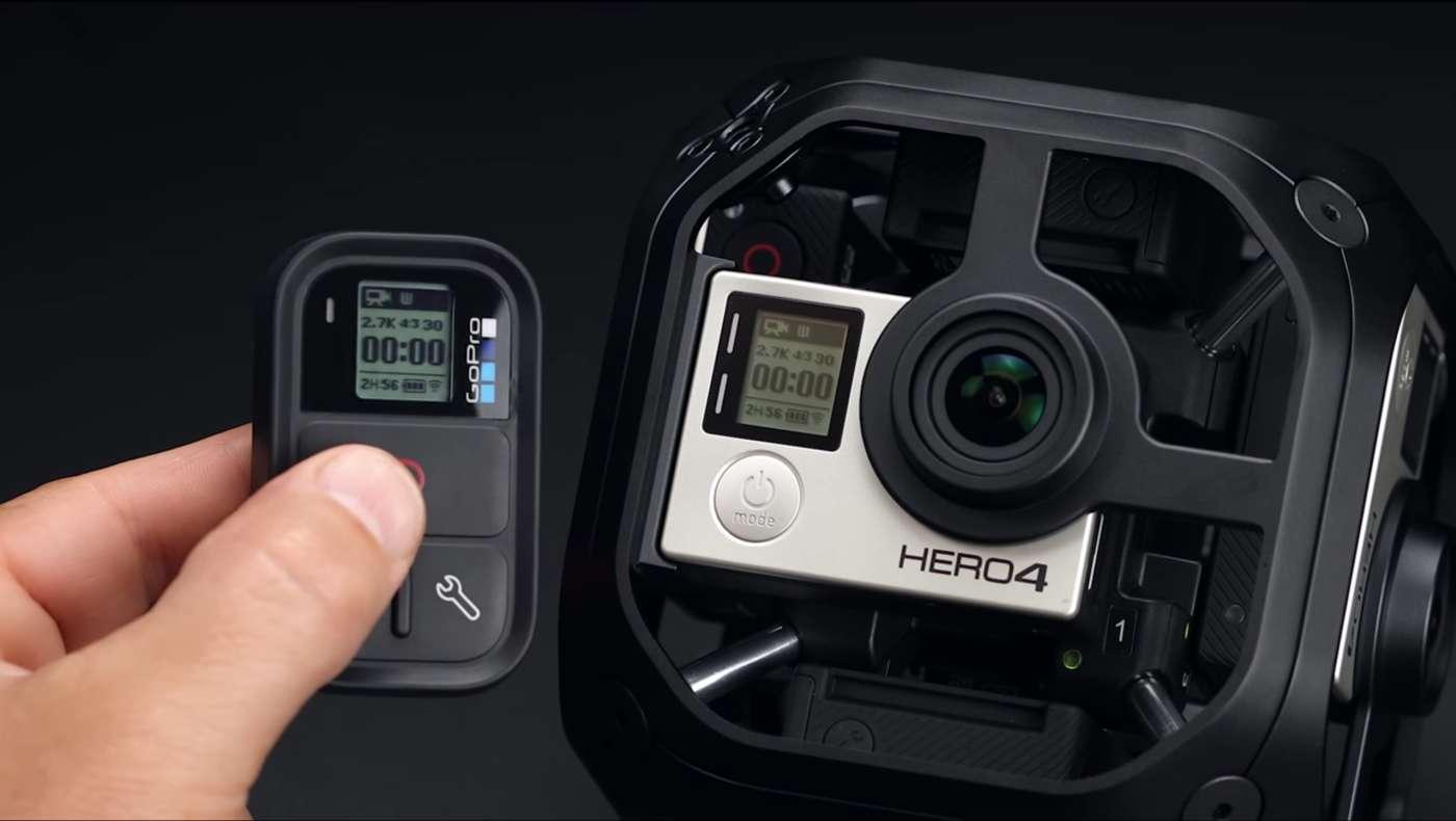 GoPro Omni с пультом управления