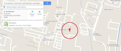 Peta Lokasi Assabiq Service Sofa di Bandung