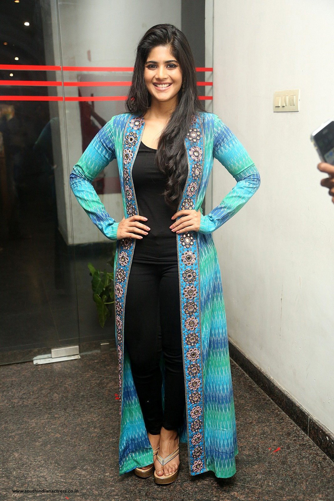 Megha Akash Stills at LIE Movie Success Meet
