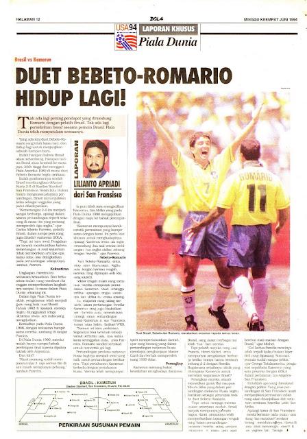 LAPORAN KHUSUS Piala Dunia USA 94