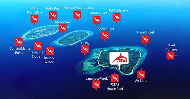 Que hacer en las islas Gili snorkel