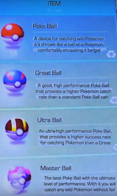 What are the Different Types of Pokeballs? - Pokemon Go