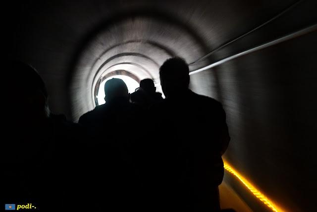 Parc de l'Oreneta. Túnel del trenet