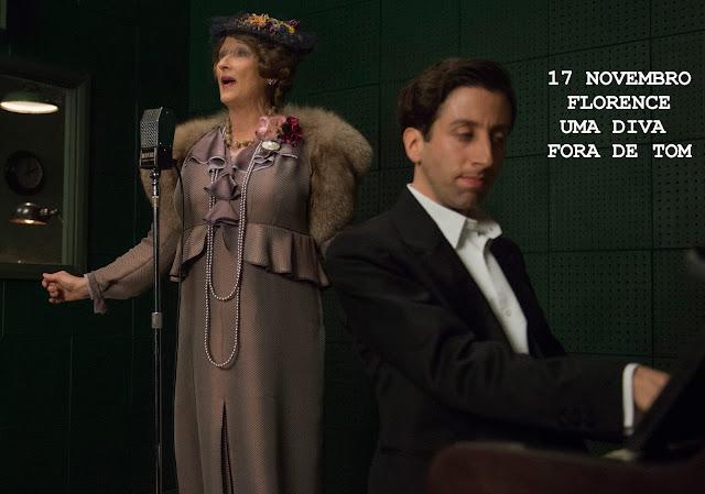 Florence Foster Jenkins - Florence - Uma Diva Fora de Tom (2016) de Stephen Frears