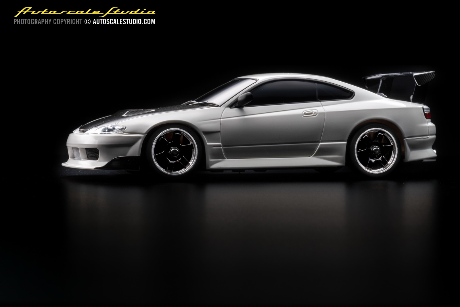 mzp413cw nissan silvia s15 gt wing carbonhood white autoscale studio. Black Bedroom Furniture Sets. Home Design Ideas