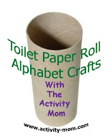 toilet paper roll alphabet crafts