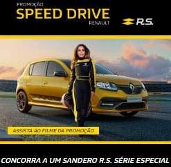 Promoção Renault 2018 Speed Drive Anitta Concorra Carro 0KM