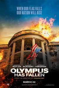 Olympus Has Fallen (2013) Dual Audio 300mb Hindi Download BRRip 480p