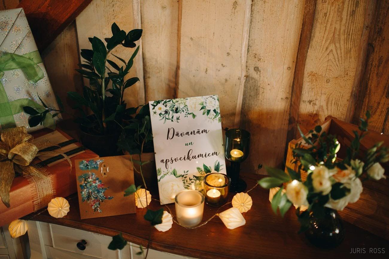 kāzu noformējuma idejas