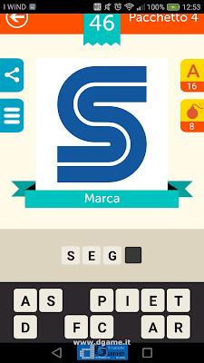 Iconica Italia Pop Logo Quiz soluzione pacchetto 4 livelli 46-75