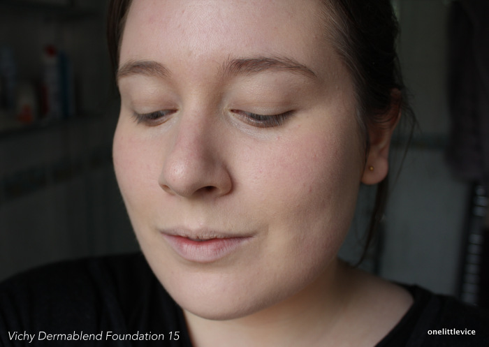 one little vice beauty blog: full coverage foundation