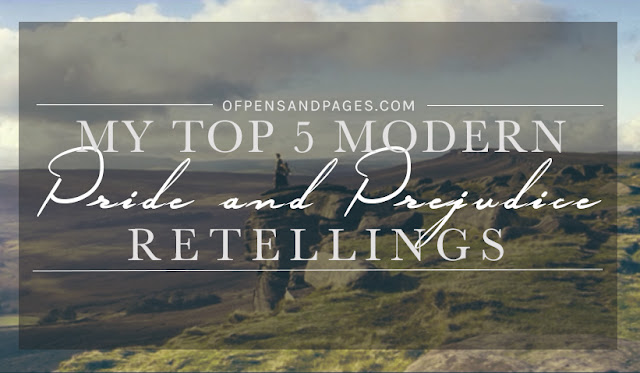 My Top 5 Modern Pride and Prejudice Retellings + Giveaway