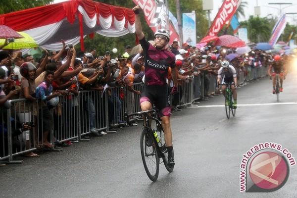 Marcus Culey Dominasi Etape I Tour de Molvccas (TdM) 2017