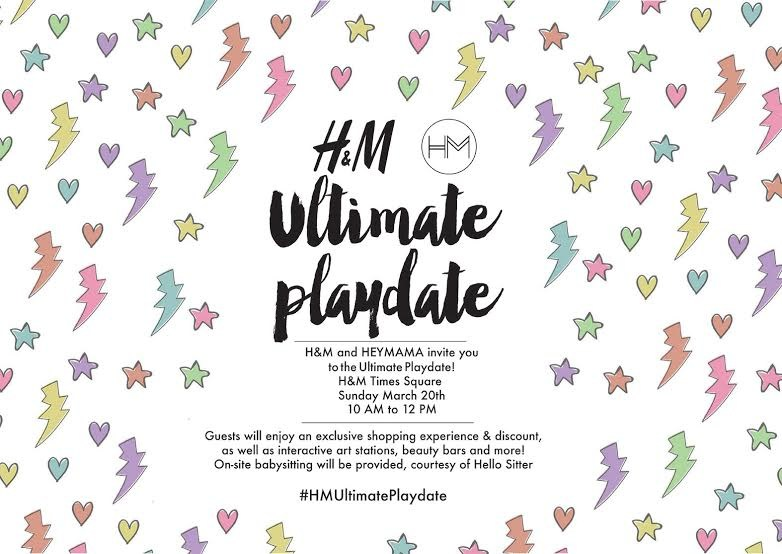 The Ultimate Playdate by HeyMama x HM Nyla Winter