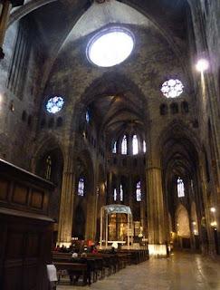 Interior de la Catedral de Santa María.