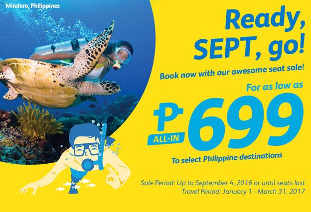 Cebu Pacific 699 Promo Fares 2016