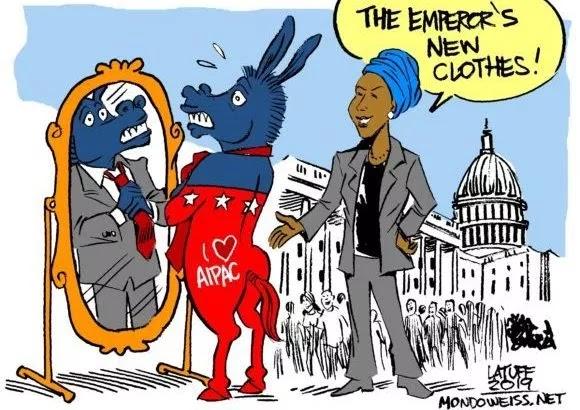 presumptuous politics  ilhan omar and rashida tlaib cartoons