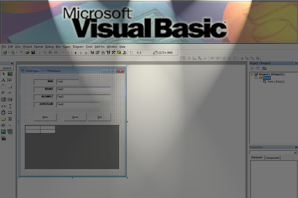 Membuat AutoNumber di Visual Basic 6.0