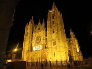 La catedral g�tica de Le�n, una de las m�s bonitas de Espa�a