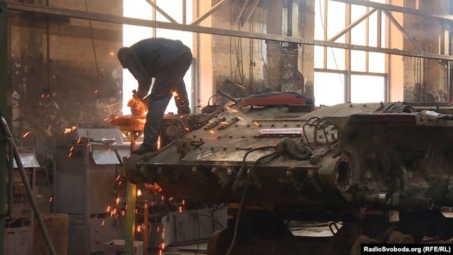 Львівський бронетанковий продовжує модернізацію Т-64