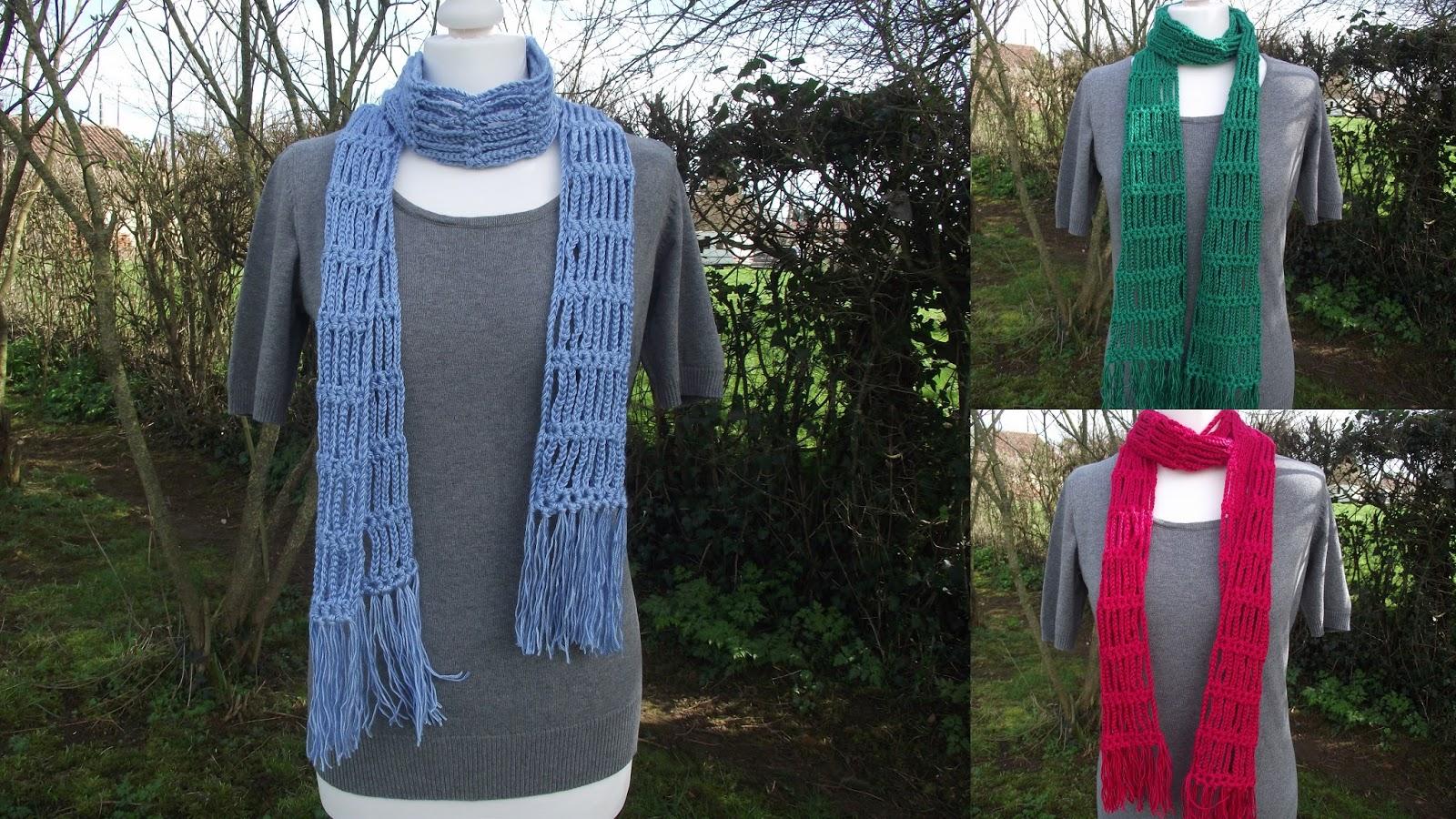 Crochet et tricot facile avec explications - Echarpe au crochet facile a faire ...