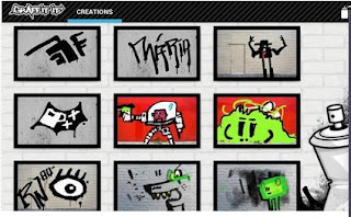 Cara membuat graffiti di android