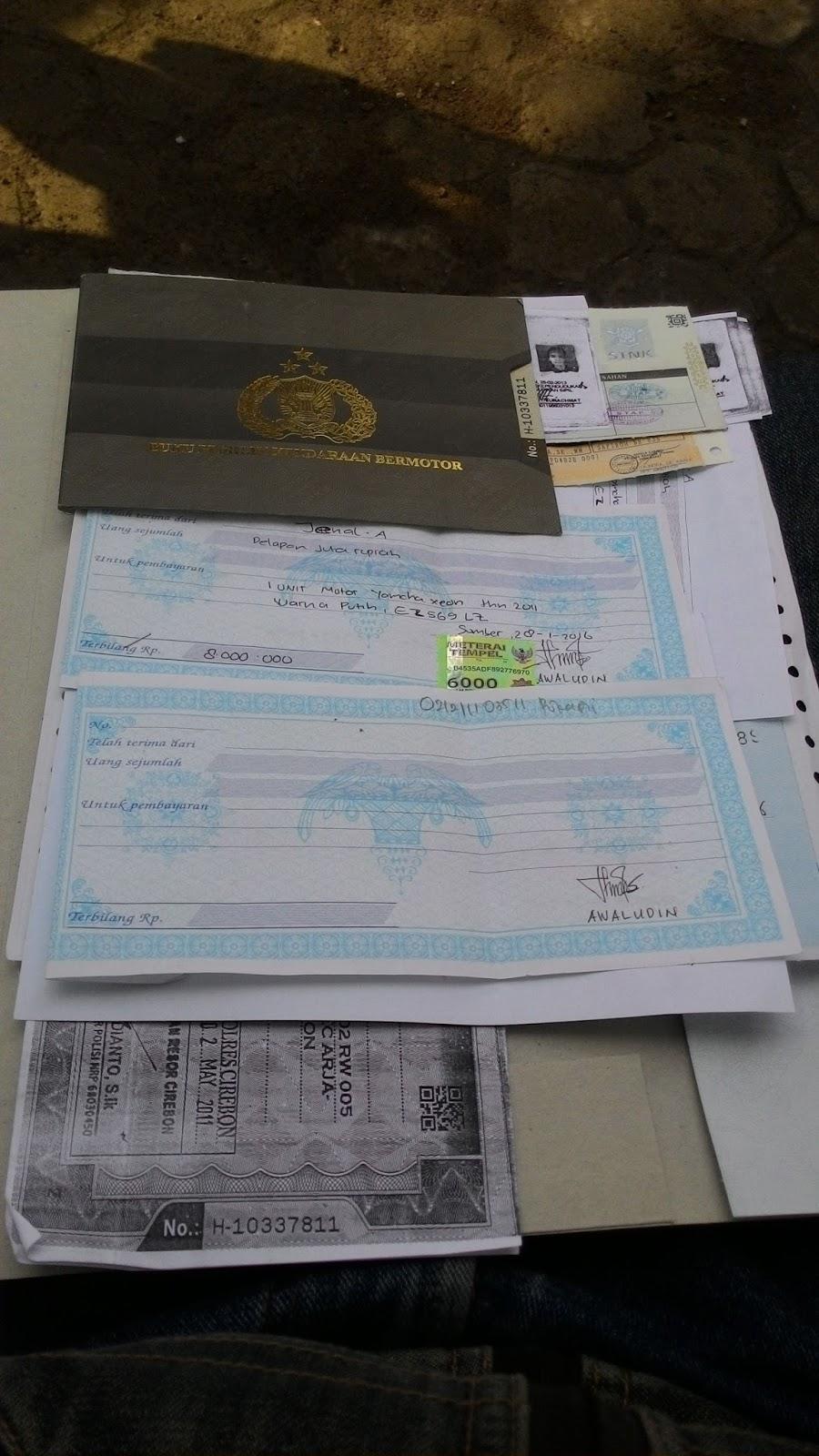 Cara Balik Nama Stnk Bpkb Dan Plat Nomer Cirebon Tutorial