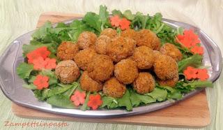 Polpette di carote e ricotta (senza uova)