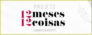 Projeto 12 Meses 12 Coisas