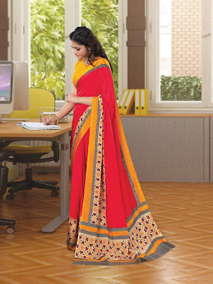 https://www.giadesigner.in/product/stylish-pink-yellow-crape-saree-with-red-crape-blouse/