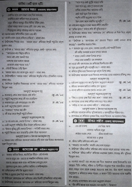 SSC Bangla 1st Paper Suggestion - 04