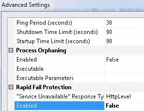 Error 503 Service Unavailable