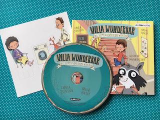 Hörbuch Villa Wunderbar: Das Zimtschnecken-Wunder, Linnea Svensson, Sandra Grimm, Rezension von Kinderbuchblog Familienbücherei
