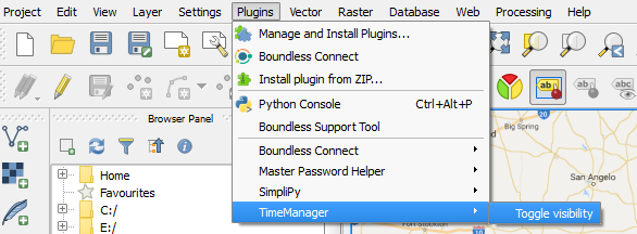 Open Time Manager plugin