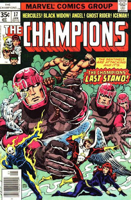 The Champions #17, the Sentinels