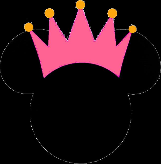 Silueta De Minnie Mouse Para Colorear Imagui