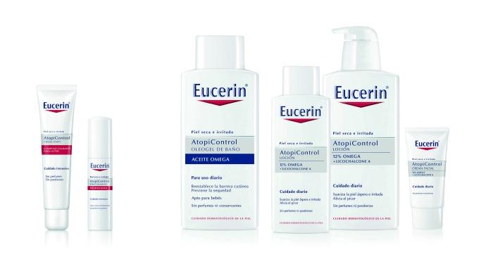 gama de productos para la dermatitis atópica