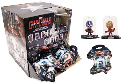 Captain America: Civil War Domez Mini Figure Blind Bag Series by UCC Distributing