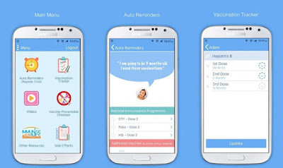 MyVaksinBaby - Aplikasi Memvaksi Anak Mengikut Jadual